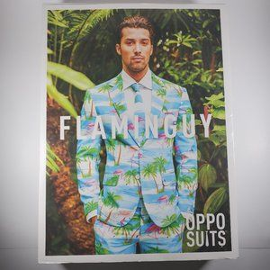 Other - NEW MENS THE GRAND CAYMAN FLAMINGO OPPO SUIT SZ 50